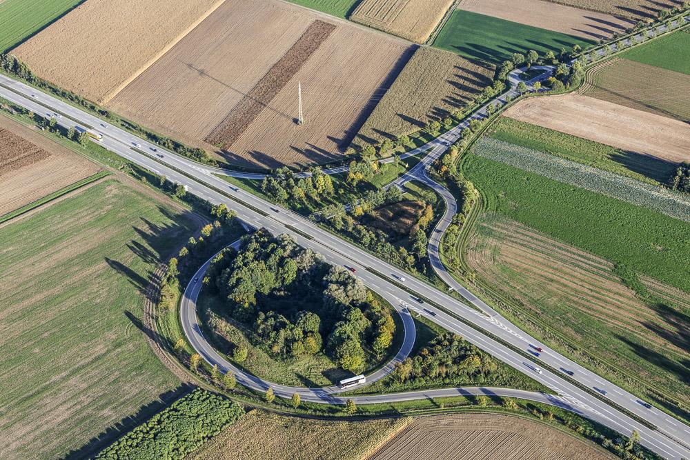 Ausfahrt A92 Landshut-Nord