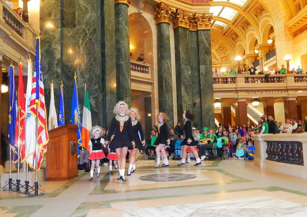 Церемония ирландского флага-2016.
