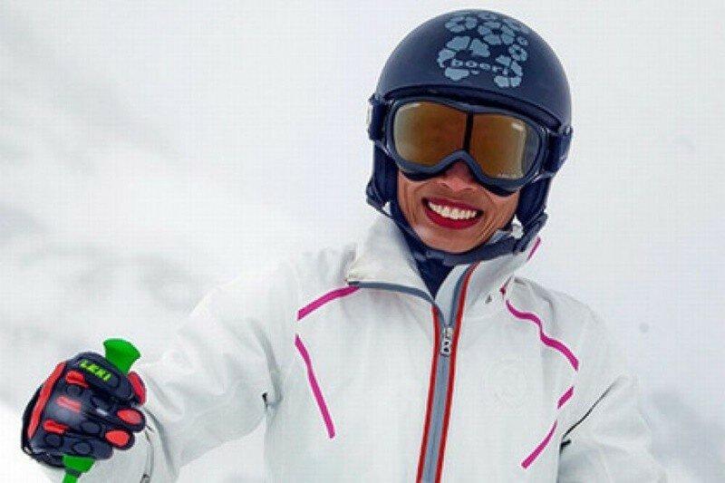 Скрипачка Ванесса Мэй отстранена от лыжных соревнований
