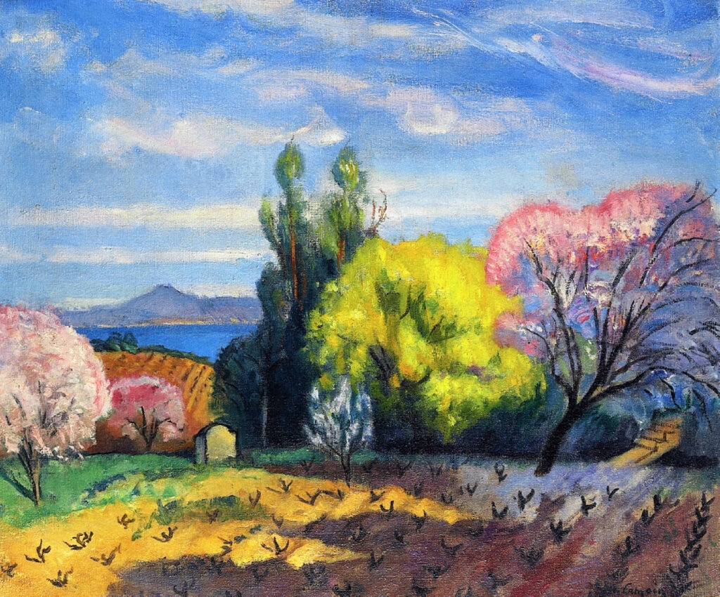 Charles Camoin - Spring in Saint-Tropez, 1921.jpeg