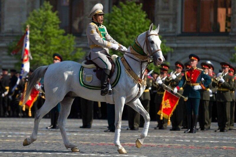 Парад Победы в Москве. Торжественный марш иностранных армий (видео, фото)