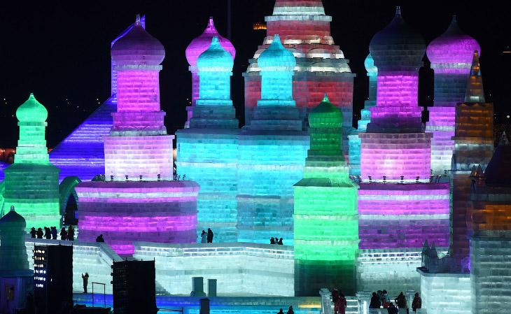 Царство льда в Харбине (21 фото)