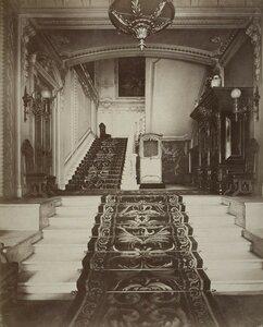 Парадная лестница дома А.А. Половцова на Большой Морской улице