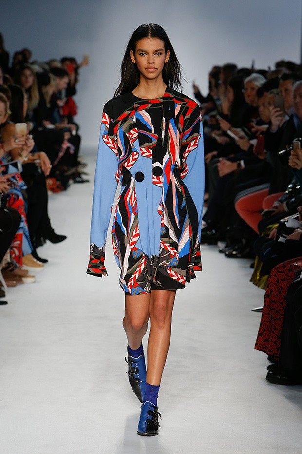 #MFW Emilio Pucci Fall Winter 2016 Collection - Design Scene - Fashion, Photography, Style & Design