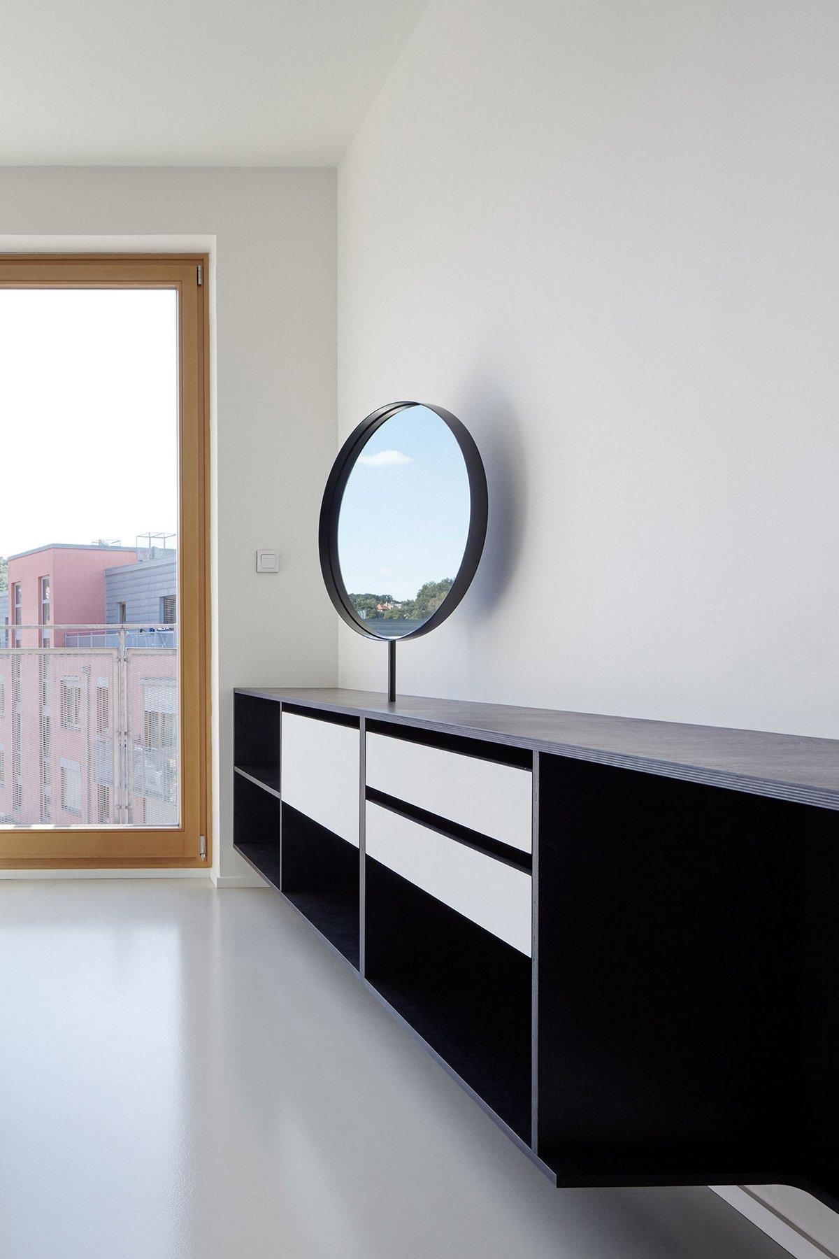 Guest Apartment, Mjolk Architects, DDAANN, дизайн интерьера квартиры студии, варианты планировки студии, интерьер минимализм фото, интерьер студии фото