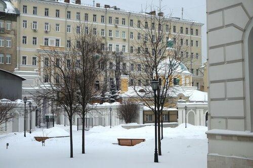 Дом Пашкова. Вид из окна