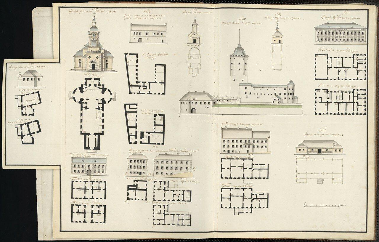 05. Планы зданий. Выборг, часть 1