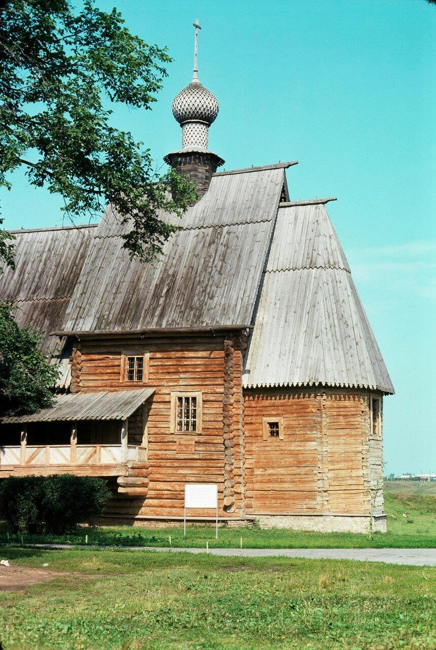 Суздаль. Деревянная Никольская церковь