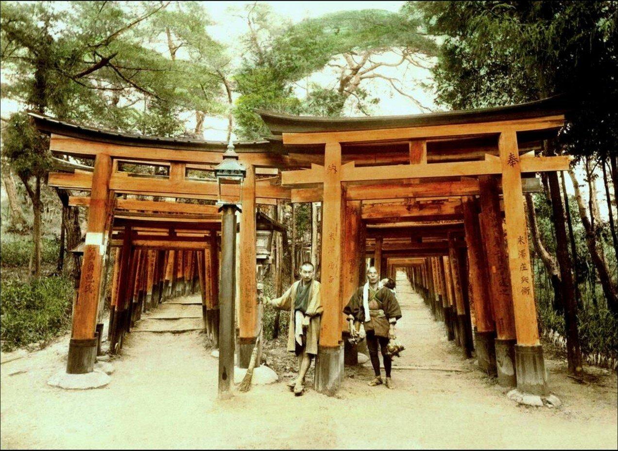 Киото. Храм Инари