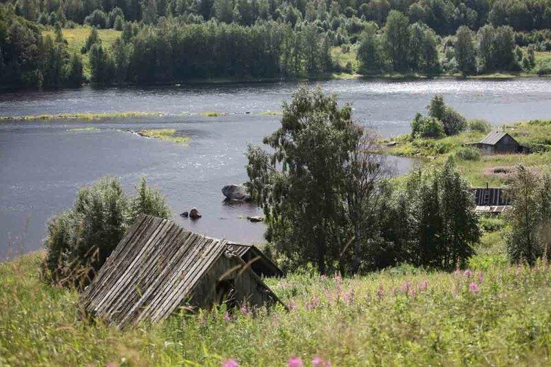 Кереть, село