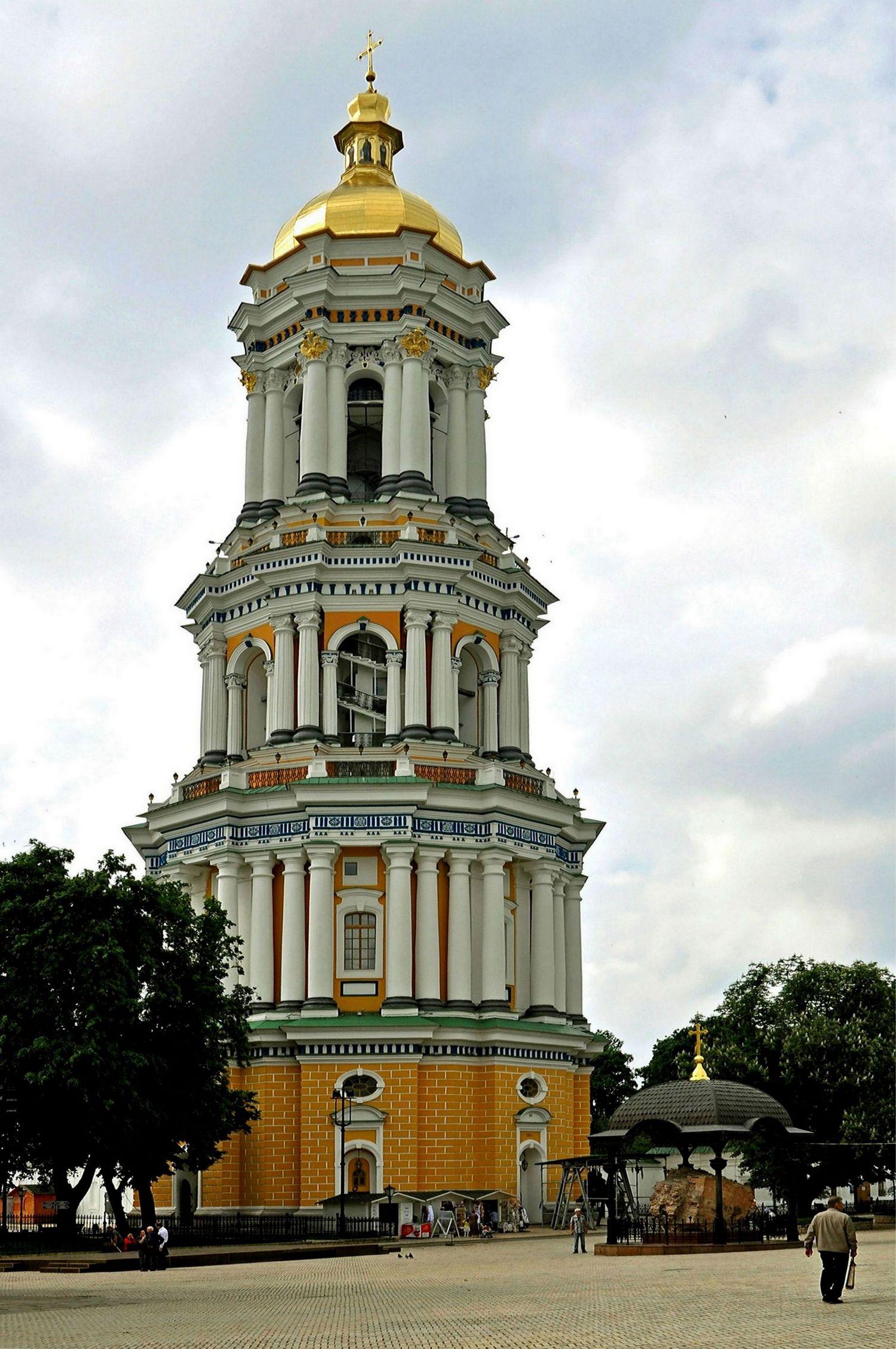 Лаврская колокольня Киево-Печёрской лавры