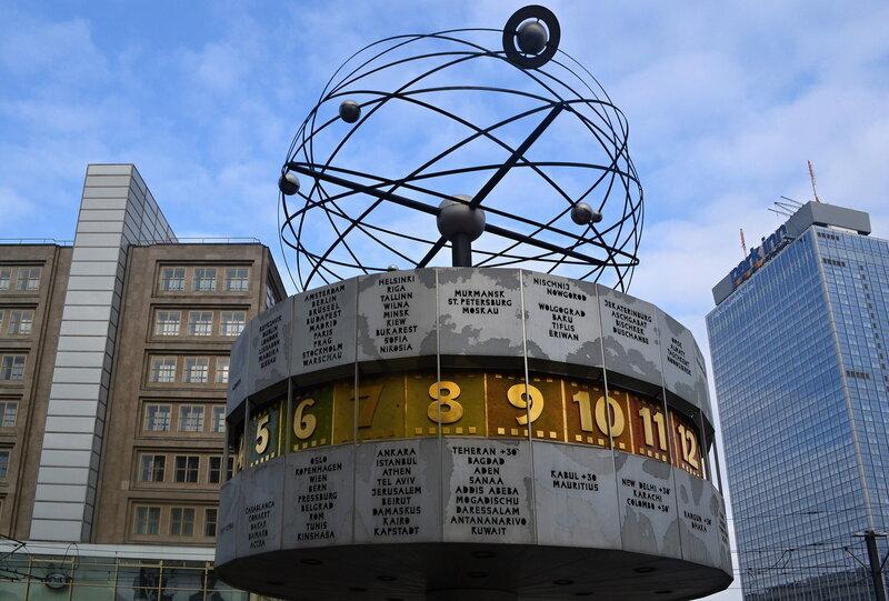 Картинки по запросу Часы Мировое Время, Берлин