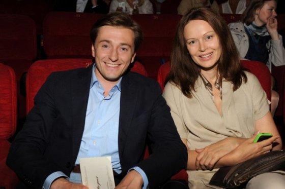 Сергей Безруков и Ирина Безруковы