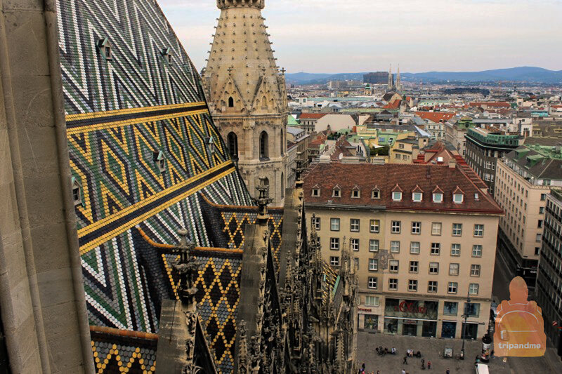 Крыша церкви Святого Стефана