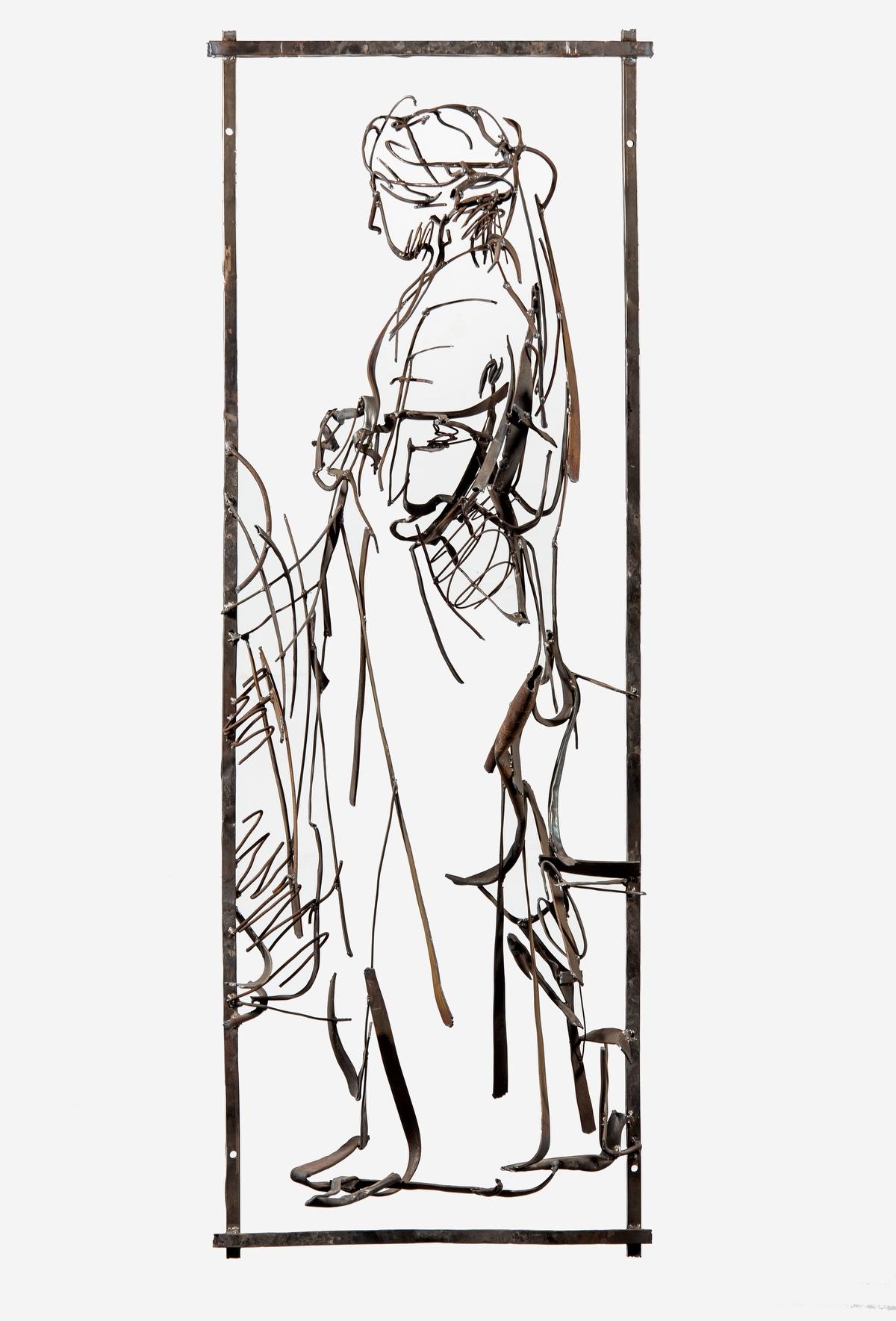 В экспозицию выставки, помимо работ Дмитрия Гутова, также вошли офорты и графика Рембрандта из собра