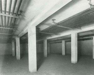 Образец железо-бетонных перекрытий  - сооружение строительной конторы товарищества.