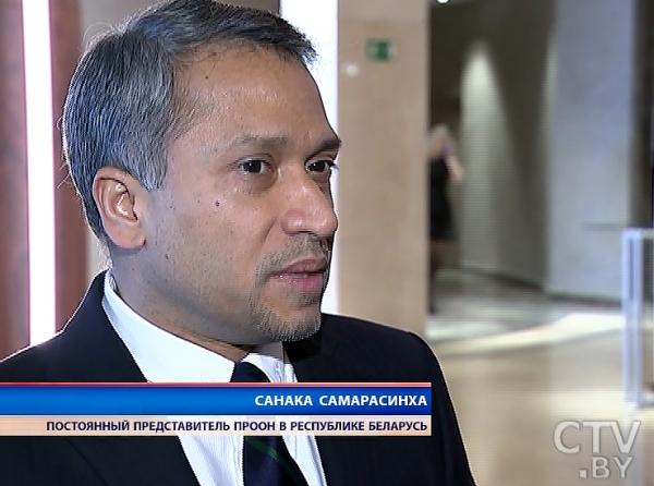 Санака Самарасинха постоянный представитель ПРООН в Республике Беларусь