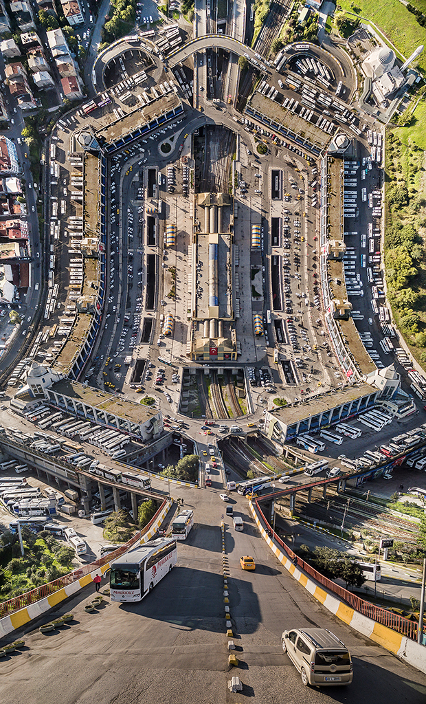 Istanbul Inception: Warped Turkish Cityscapes by Aydin Buyuktas