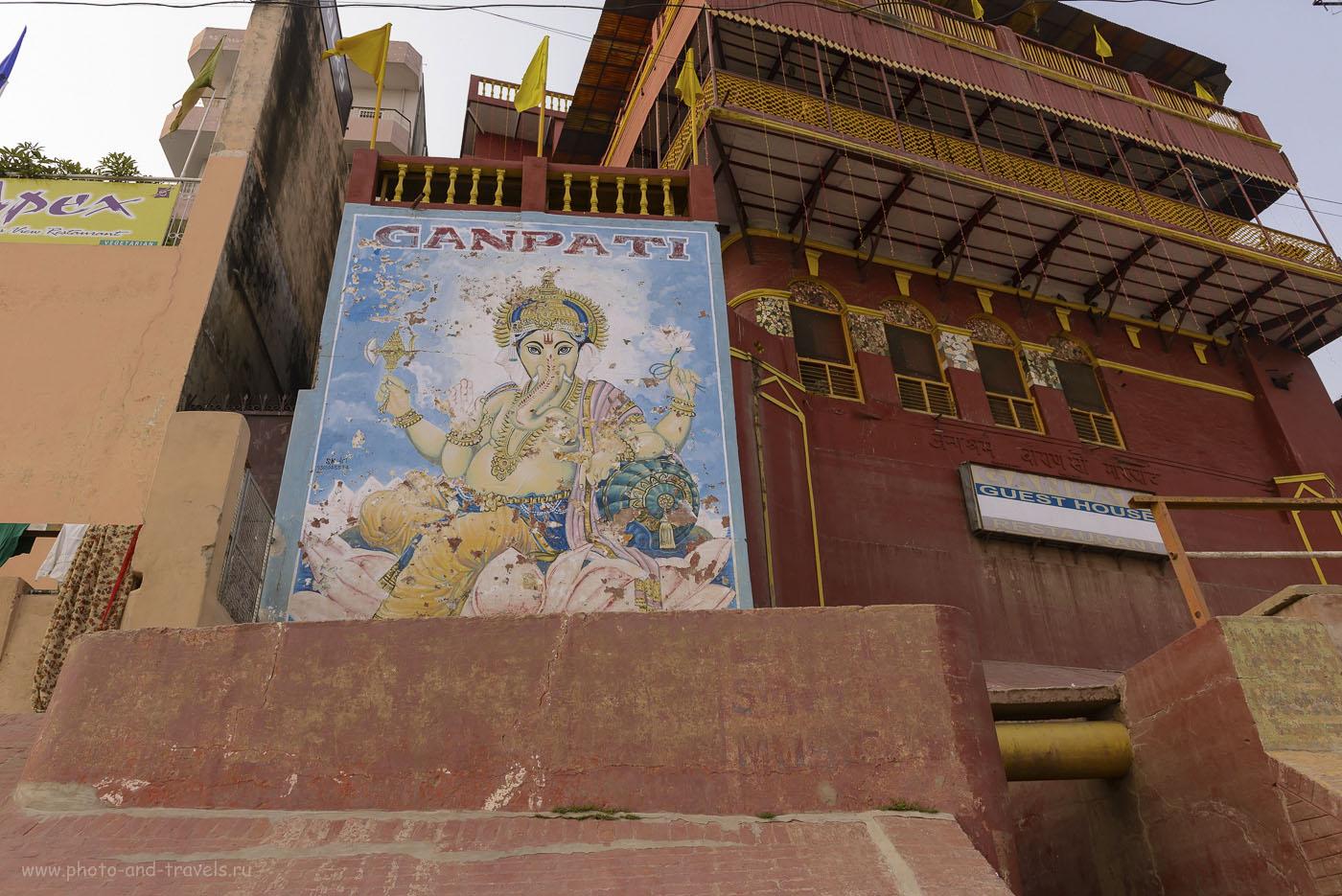 Фото 11. Гэстхаус Ганпати на гхате Дасасвамедх в Варанаси. Рассказы туристов о поездке в Индию. 1/250, 8.0, 200, 26.