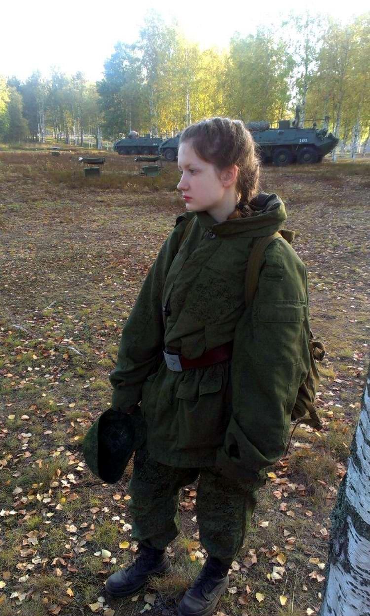 От тайги до британских морей ... : Лица девушек из Российской армии (13)