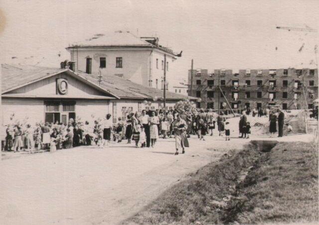 Клуб Строитель 1946-47 гг, на месте 1-й поликлиники.jpg