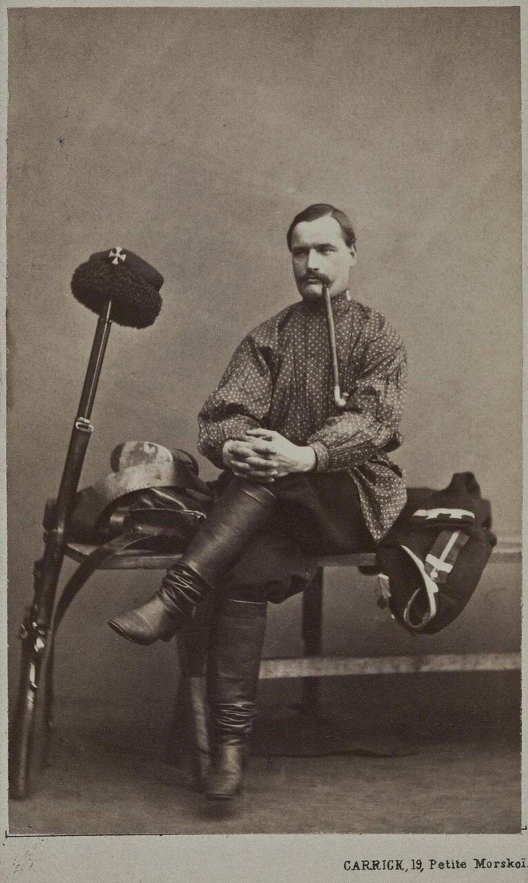 Портрет мужчины с трубкой