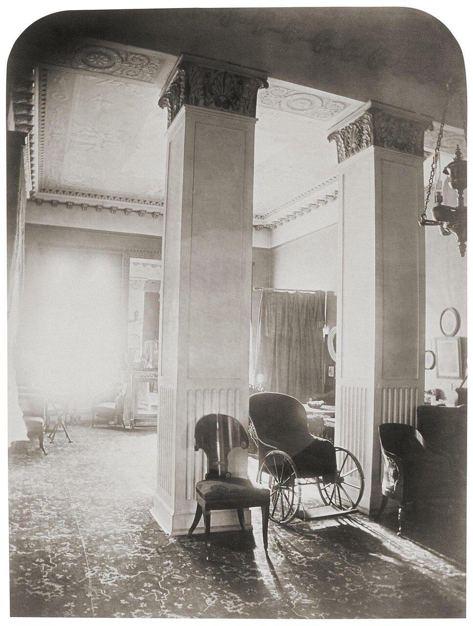 Дом Левашовых на набережной Фонтанки. Гостиная