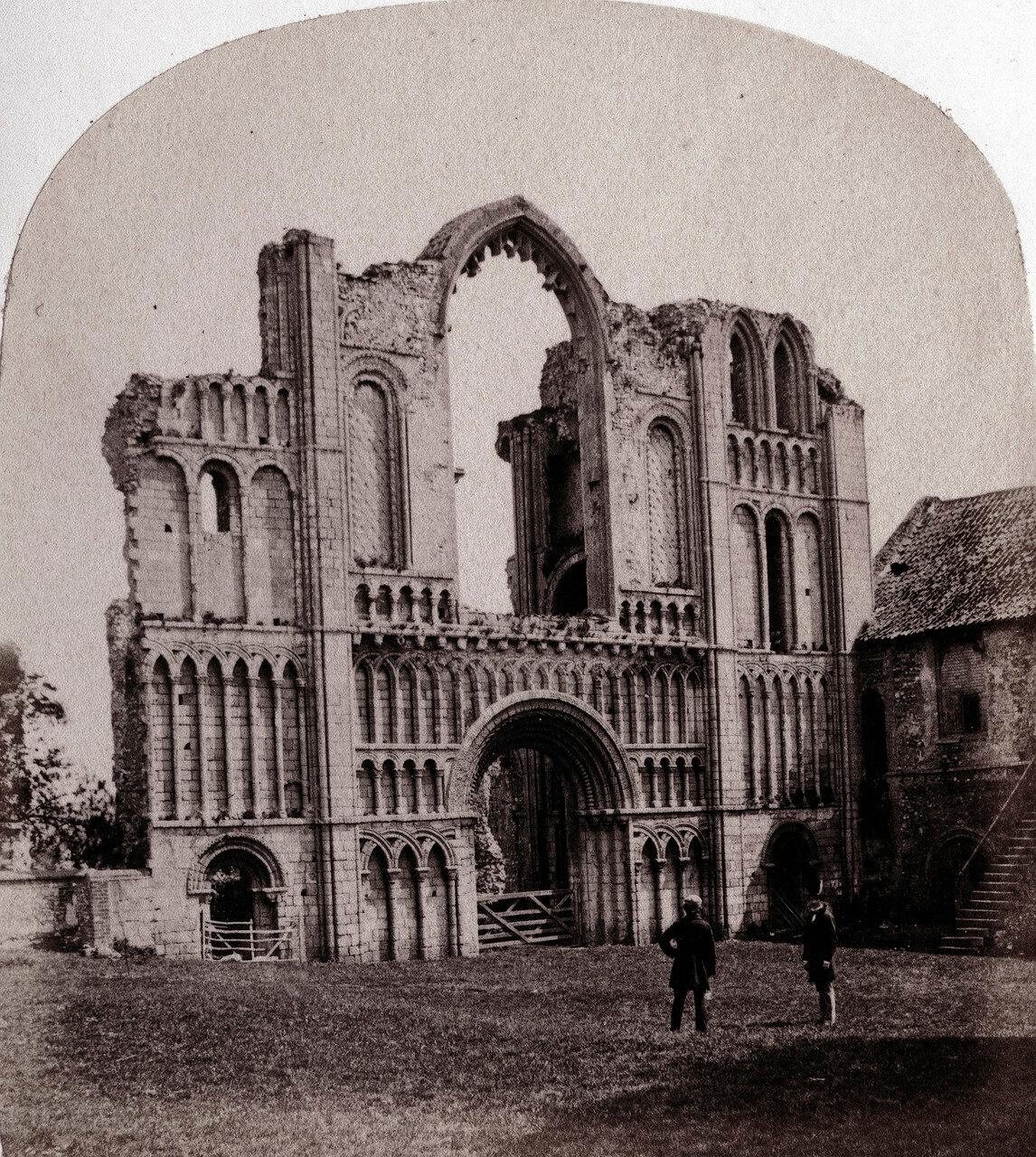 Монастырь Замка Акра. западный фасад. Великобритания, 1864