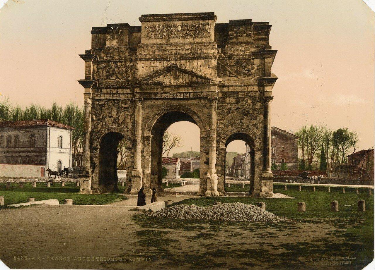 Триумфальная арка.  1890