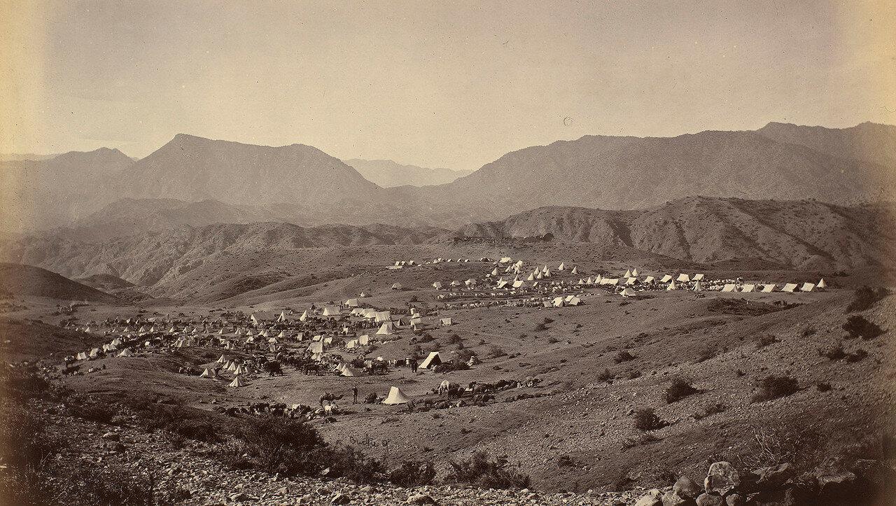 01. Британский военный лагерь на Шагайских высотах