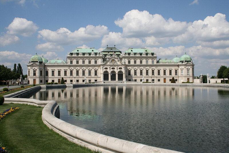 Музей бельведер в вене