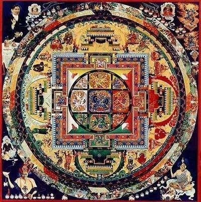 mandala тибетская