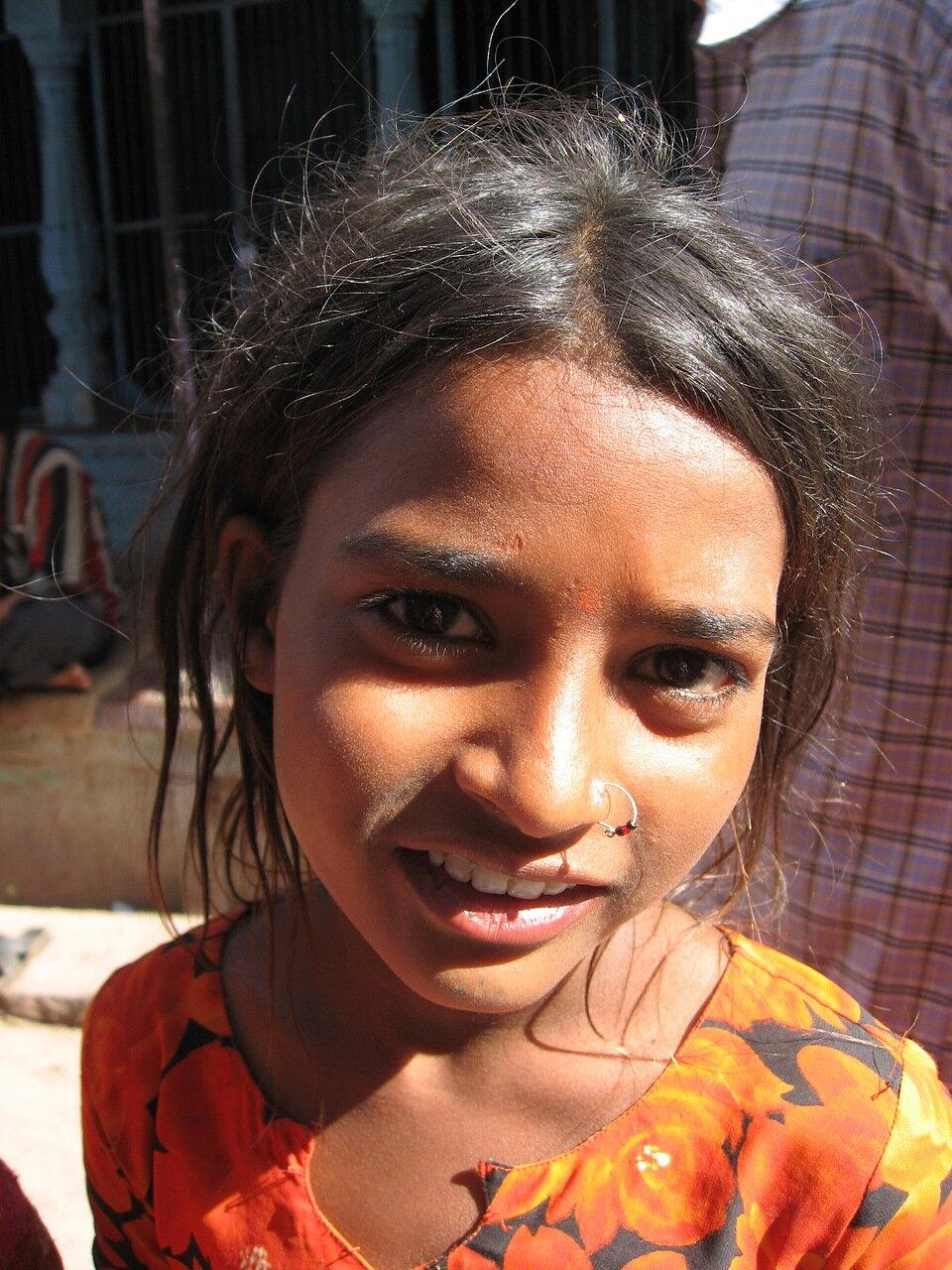 Индийская девочка