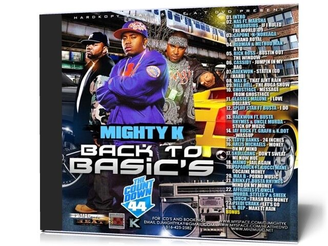 DJ Mighty K - The Countdown 44 (2009)