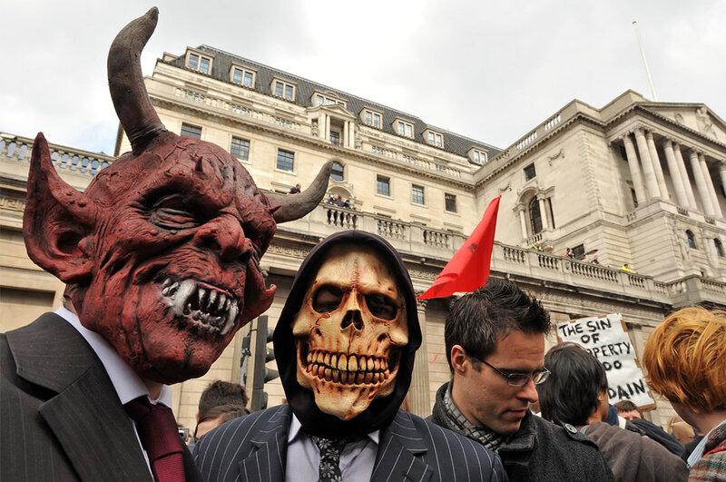 Беспорядки в Лондоне на G20