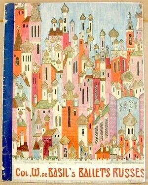 BALLETS RUSSES de Monte Carlo 1936-1937 Season. Souvenir Program. NY: Nicolas Publishing Co., Inc., [1936]