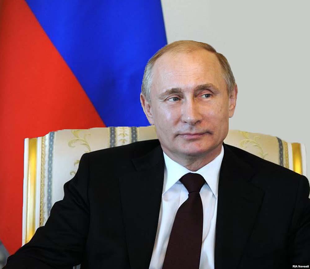 Президент РФ, Владимир Владимирович Путин!