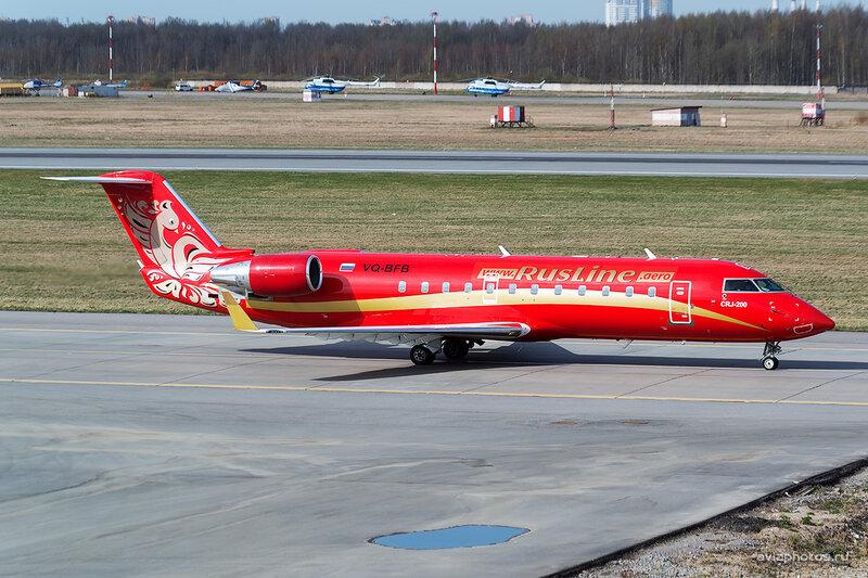 Bombardier CRJ-200ER (VQ-BFB) РусЛайн D804262