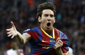 Мессии повторил рекорд по количеству голов на Лиге Чемпионов