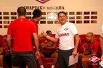 Первая тренировка Спартака под руководством Аленичева