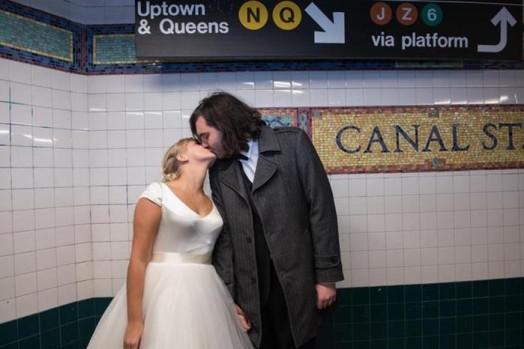Свадьба в метро Нью Йорка 0 11e5fb a5b338fa orig