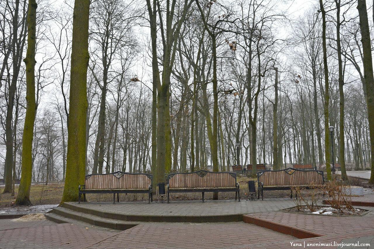 Первый день весны в парке Румянцевых и Паскевичей. Гомель