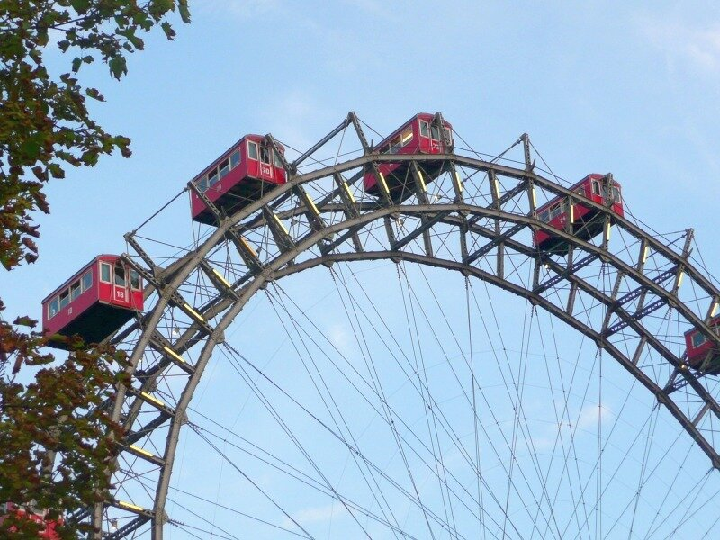 Самый знаменитый парк Вены