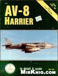 """Книга Av-8 Harrier: In Detail and Scale vol.28: U.S.M.C. Versions"""""""