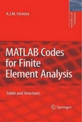 Книга MATLAB Codes for Finite Element Analysis: Solids and Structures