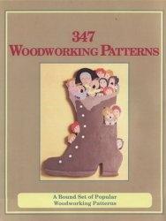 Книга 347 Woodworking Patterns: A Bound Set of Popular Woodworking Patterns