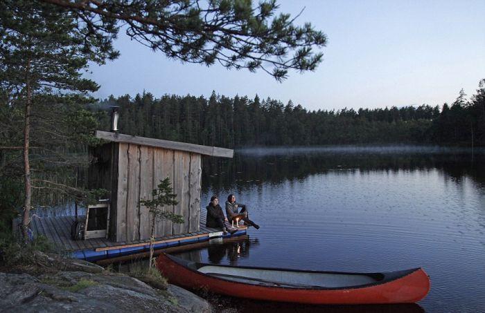 отель в швеции в лесу 4