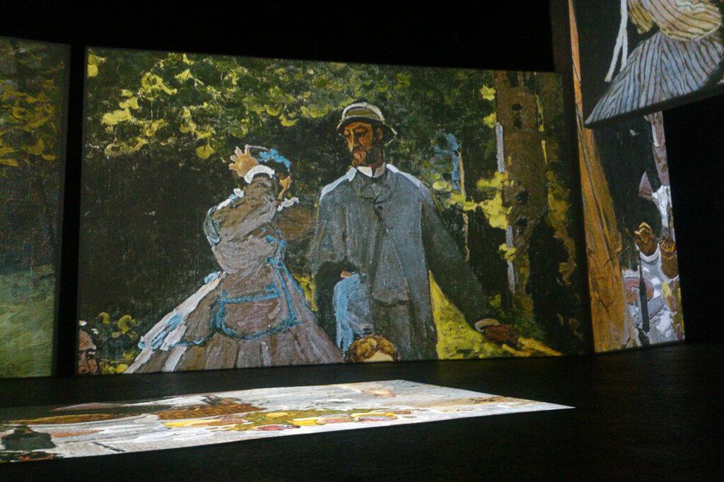 2015.04.04 - Москва. ArtPlay. Французские импрессионисты от Моне до Сезанна. Экспозиция. Фрагмент 7