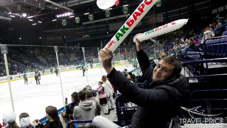 хоккей в Казани Татнефть-Арена