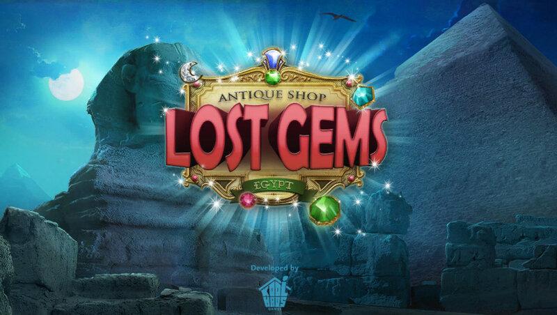 Antique Shop: Lost Gems - Egypt
